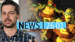 Turtles-Spiel offiziell geleakt - Her Story 2 angekündigt - News