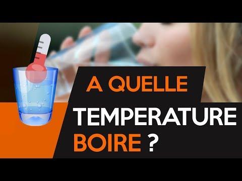 à quelle température boire ?