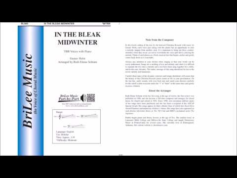 In the Bleak Midwinter (BL969) Arr. by Ruth Elaine Schram