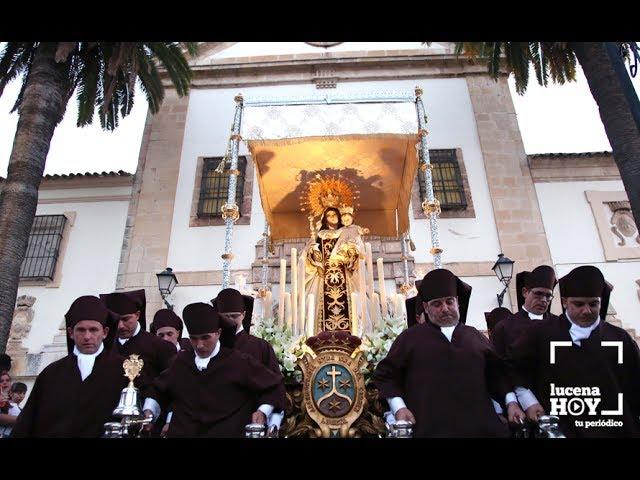 VÍDEO: LUCENA / Estuvimos en la procesión de la Virgen del Carmen