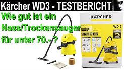 Kärcher WD 3 Testbericht | Wie gut ist ein Nass- Trockensauger für unter 70 Euro?