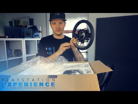 Thrustmaster T - GT Gran Turismo Sport PS4 Wheel UNBOXING / Playstation Experience