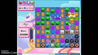 Candy Crush Level 435 Audio Talkthrough, 3 Stars 0 Boosters
