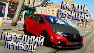 Внебрачный Брат Субару - Honda Civic 2017 В Уличных Гонках! Forza Horizon 4