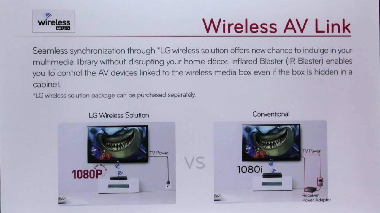lg ces 2010 hdtv wireless av link youtube rh youtube com Wireless AV Media Wireless CCTV Transmitter and Receiver