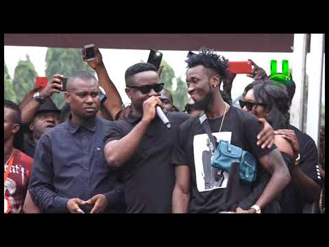Sarkodie at Ebony's One Week Observation