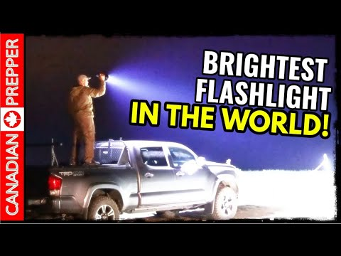 2019   Brightest Flashlight In The World! 100,000 Lumens   Imalent MS-18