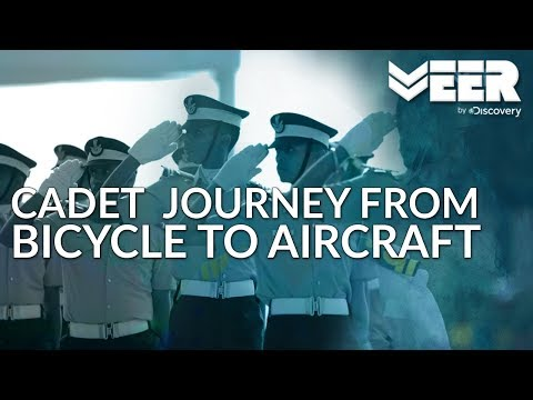 Indian Air Force Academy E1P4 | Cadets Journey from Riding a Bicycle to Flying an Aircraft