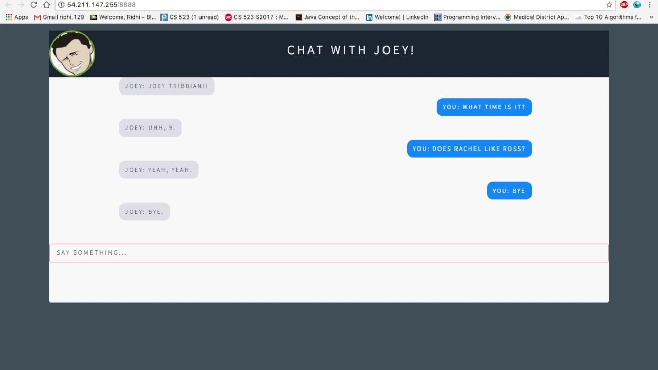 Seq2Seq RNN based ChatBot