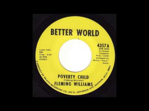 Fleming Williams Poverty Child Youtube
