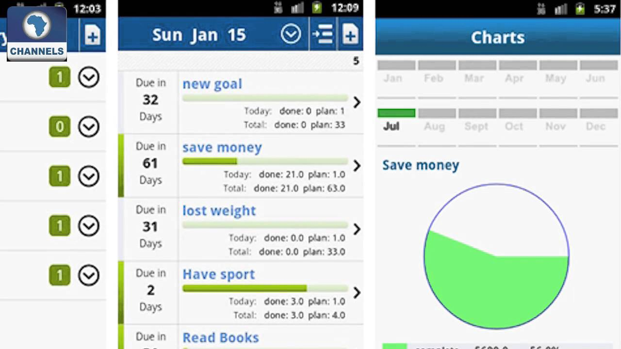 Image result for GoalTracker App