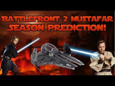 Battlefront 2 Mustafar Season Prediction!