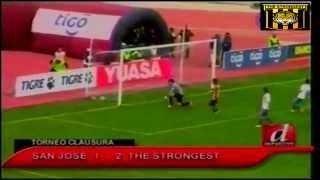 San Jose 1 vs THE STRONGEST 2, Relato El Derribador, Clausura 2014 - 2015