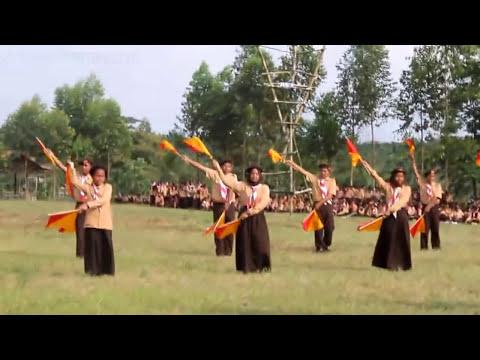 KEREN BANGET!!!! Atraksi Dance Semaphore Pramuka Penggalang SMP YPMM Coboy Junior - 5 Elang