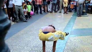 Artistas callejeros Paso del Sapo