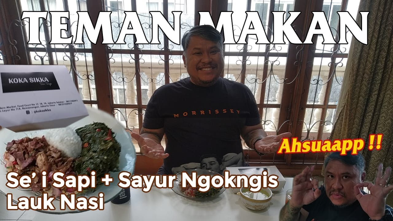 Teman Makan : Se' i Sapi + Sayur Ngokngis, Lauk Nasi