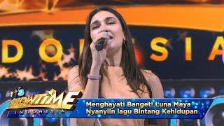 Menghayati Banget! Luna Maya Nyanyiin lagu Bintang Kehidupan - It's Show Time (10/4)