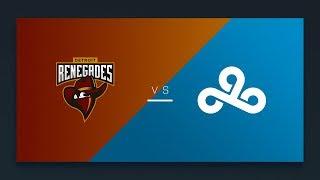 CS:GO - Renegades vs. Cloud9 [Inferno] Map 1 - NA Day 18 - ESL Pro League Season 7