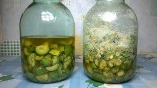настойка на зеленых орехах. На водке и без водки . Два рецепта