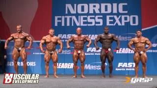 Nordic Pro Top 3 Routines & Awards