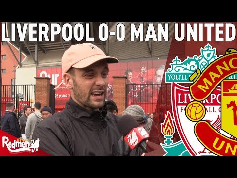 'United  May As Well Support Stoke!'  Liverpool v Man United 00  LFC  Cam