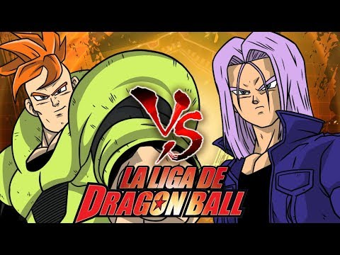 ANDROIDE 16 VS TRUNKS - La Liga de Dragon Ball