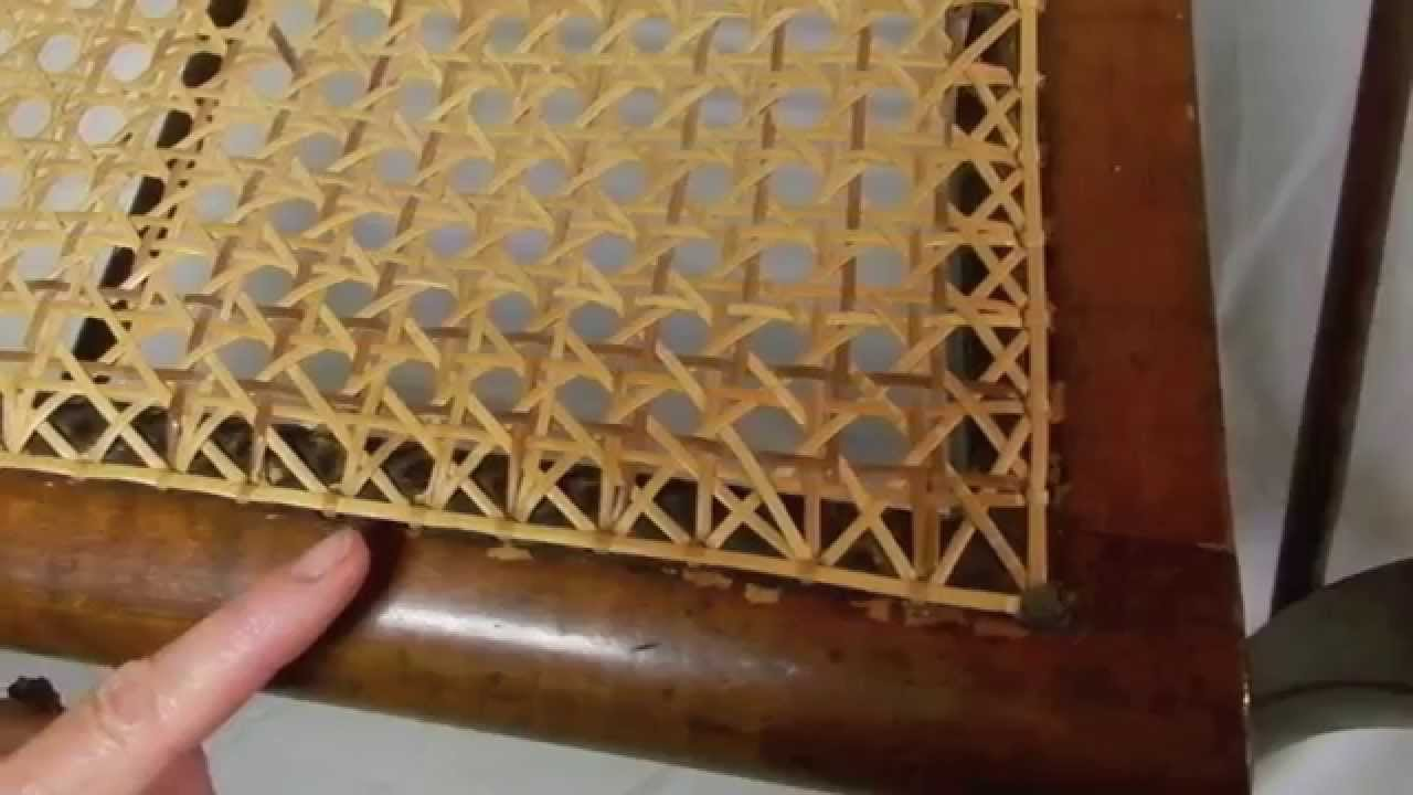 Where Can I Buy Cane For Chairs Ergonomic Mesh Mid Back Chair The Difference Between A Hand Caned And Pressed Youtube