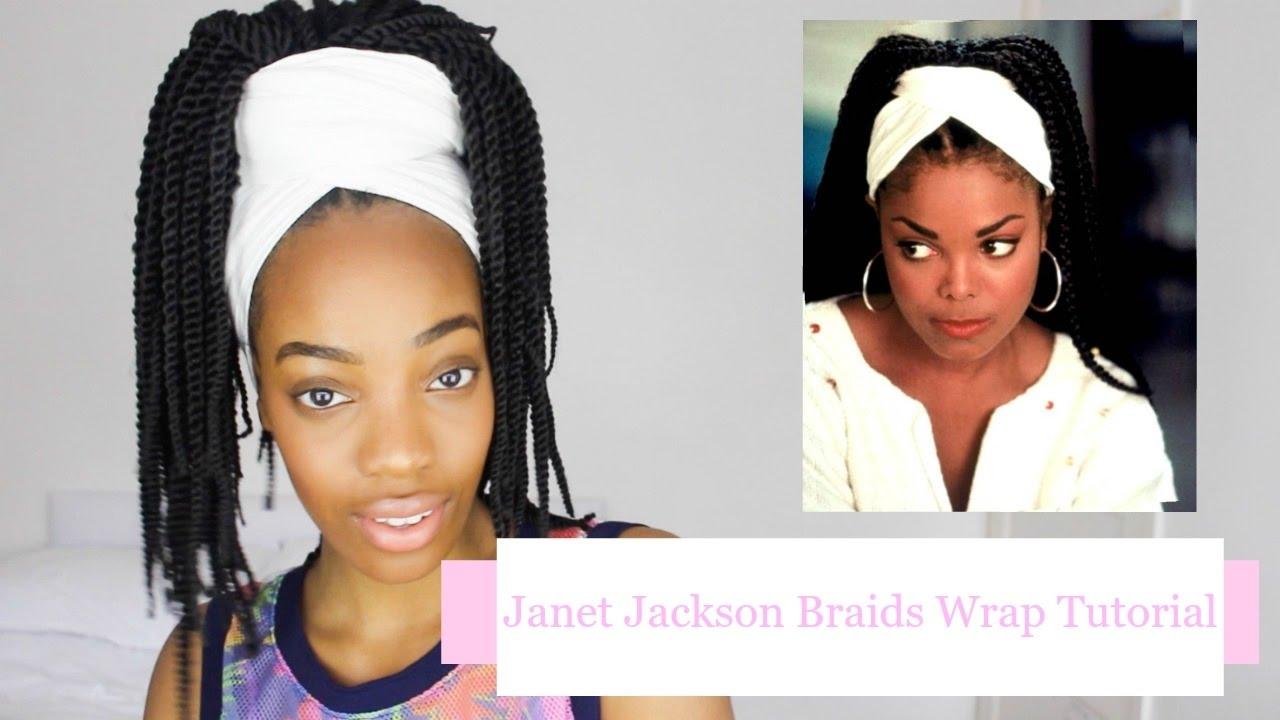 Easy Janet Jackson Poetic Justice Braids Head Wrap ...
