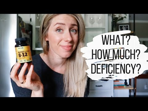 VITAMIN B12 | Deficiency, Supplements, Foods and Daily Recommendation