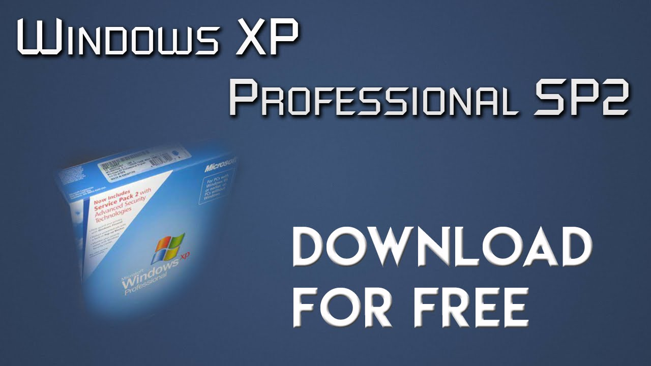 Sp3 xp professional free download.