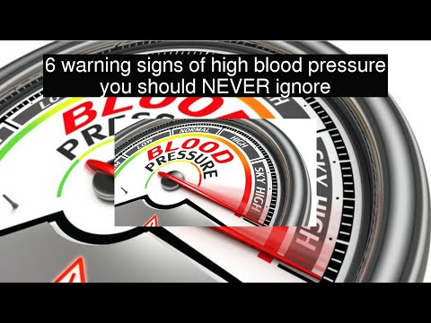 6 warning signs of high blood pressure you should NEVER ignore