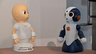 社会的対話ロボット公開=人間さながらの言葉や振る舞い thumbnail