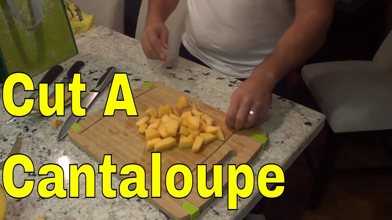how to preserve cut cantaloupe