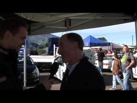 Gwyndaf Evans Interview - Rallyday 2010