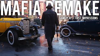 Mafia Remake - Gameplay and First Impressions