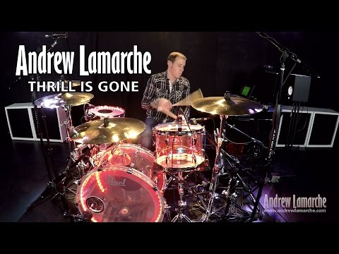 """""""Thrill is Gone"""" Drum Cover"""