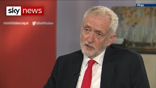 Full interview: Corbyn says he's ready to fight Boris at the ballot box