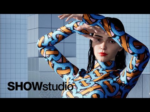 Turning Kendall Jenner into a CGI avatar for Burberry's Monogram Campaign