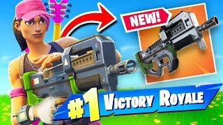 * NEU * COMPACT SMG + Gründer Skin Gameplay Fortnite Battle Royale!