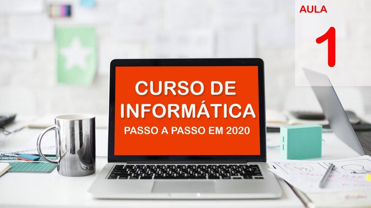Download Curso Básico de Informática 2020- Iniciantes- (Aula 1)- Como ligar o Computador.