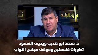 د. محمد ابو هديب ويحيى السعود - تطورات فلسطين وموقف مجلس النواب