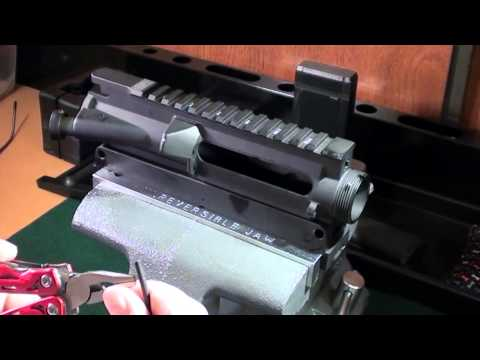 AR-15 Ejection Port Cover Install