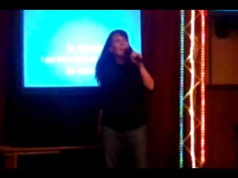 Genevieve Martin Karaoke Vista Lanes - Fergalicious...so delicious