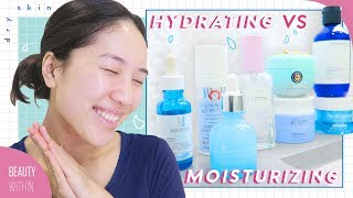 💧Top Serums & Moisturizers for Dry and Dehydrated Skin 💧Hydrating vs Moisturizing