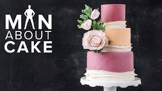 Statement Sugar Flower Peony 🌺 PLUS Tastiest Fondant Ever | Man About Cake with Joshua John Russell
