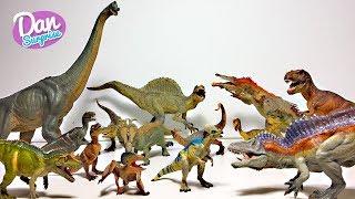 MY DINOSAUR & PREHISTORIC ANIMAL TOYS COLLECTION! Jurassic World T-Rex! Spinosaurus!