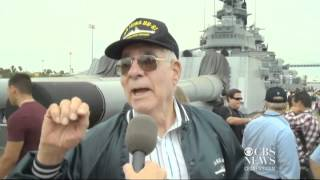 Now a museum, WWII vets return to USS Iowa