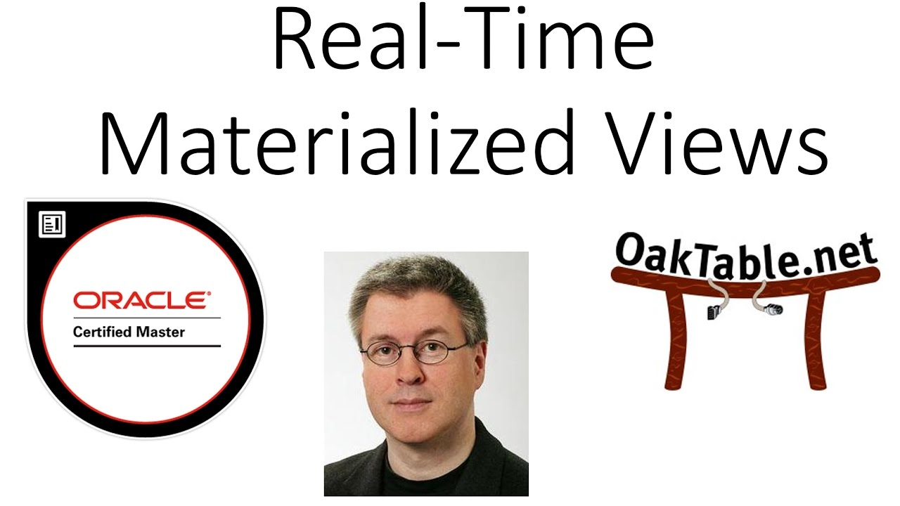 How To Utilize Real Time Materialized Views Youtube