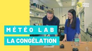 Capsule Météo Lab: «L'eau gèle-t-elle vraiment à 0 °C?»