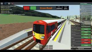 Roblox MTG Class 378 (MTG trains Livery) on Mainline Wellesley to Holden Street via Cross Road